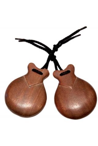 Castagnettes Pulida Caoba pour Semi-Professionnels