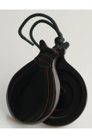 Marbled Double Castanet Black Box Fiber Special Teachers, the Intensity