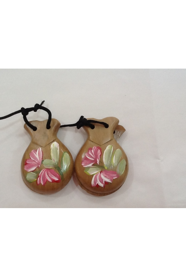 Castanets with Art