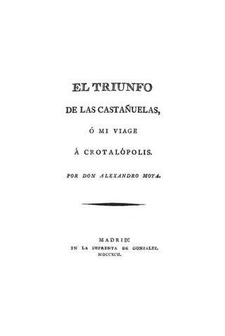 """""""El Triunfo de las Castañuelas"""""""