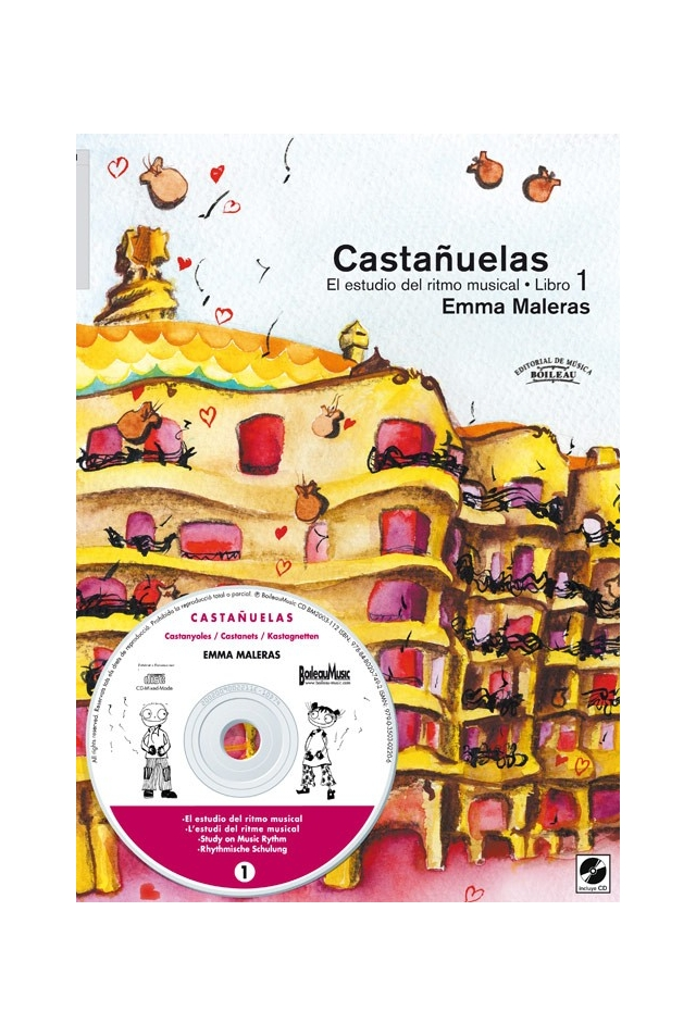 """""""Castañuelas: El Estudio del Ritmo Musical 1"""""""