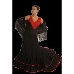Falda de Cola Flamenca Romance