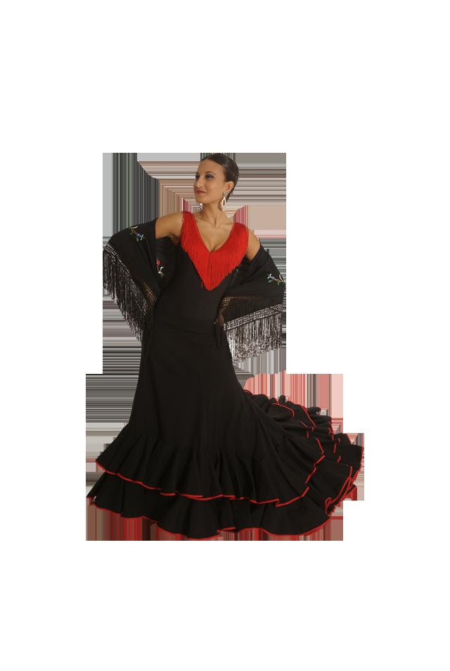 Falda Flamenca Romance