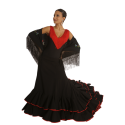 Tail skirt Flamenco Dance Romance