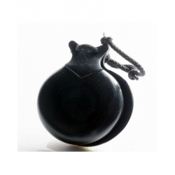 """Castanets Black Fabric Marbled, the """"Jotera"""""""