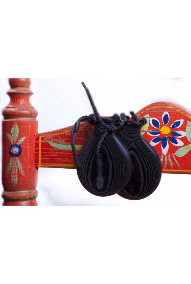 Special Black Fabric Castanets Teachers, the Orejilla